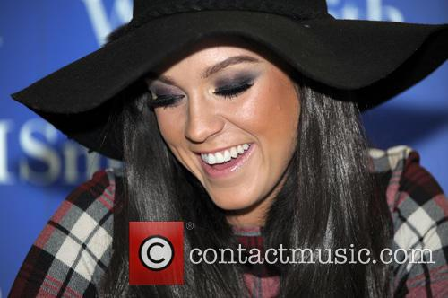 'Geordie Shore' star Vicky Pattison signs copies of...
