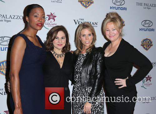 Aisha Tyler, Kathy Najimy, Cheryl Hines and Caroline Rhea 8
