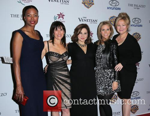 Aisha Tyler, Leslie Litt-resnick, Kathy Najimy, Cheryl Hines and Caroline Rhea 6