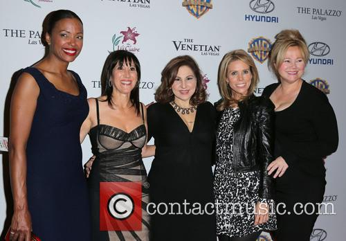 Aisha Tyler, Leslie Litt-resnick, Kathy Najimy, Cheryl Hines and Caroline Rhea