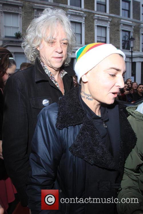 Sir Bob Geldof and Sinead O'conner 5