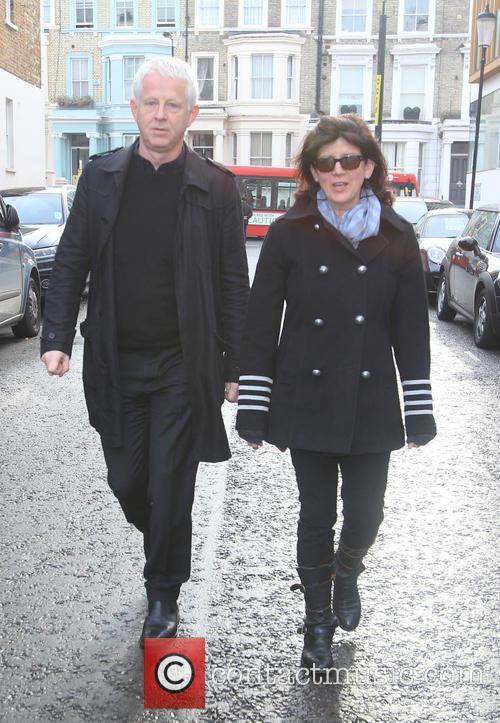 Richard Curtis and Emma Freud 2