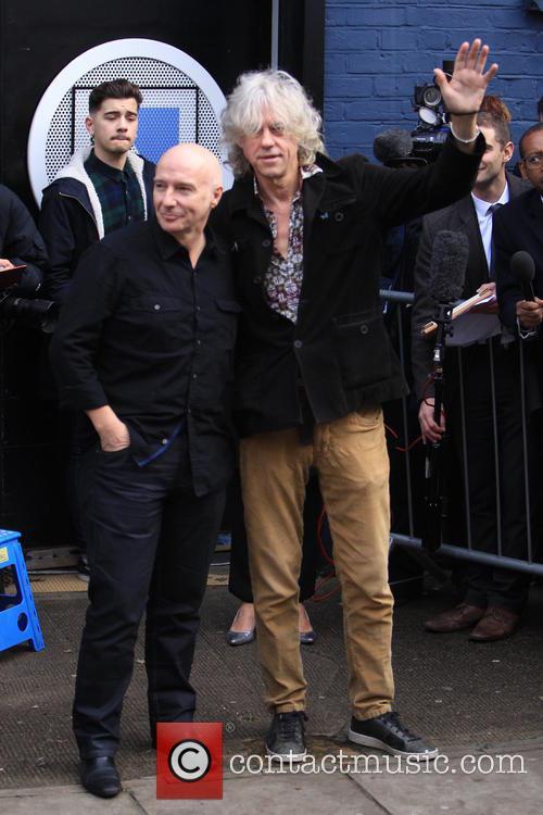 Midge Ure and Sir Bob Geldof 7