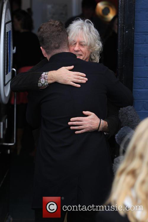 Sam Smith and Sir Bob Geldof 4