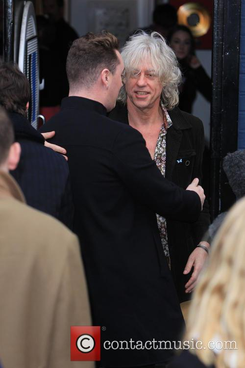 Sam Smith and Sir Bob Geldof 5
