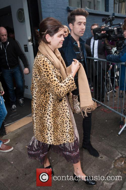 Pixie Geldof and Nick Grimshaw 8