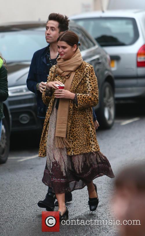Pixie Geldof and Nick Grimshaw 5