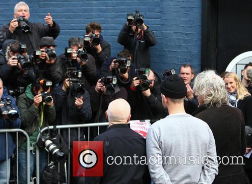 Midge Ure and Bob Geldof 3