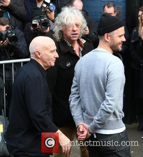 Midge Ure and Bob Geldof 4