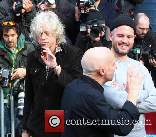 Midge Ure and Bob Geldof 5