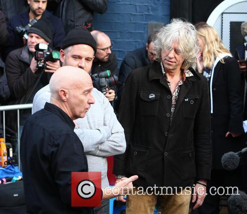 Midge Ure and Bob Geldof 6