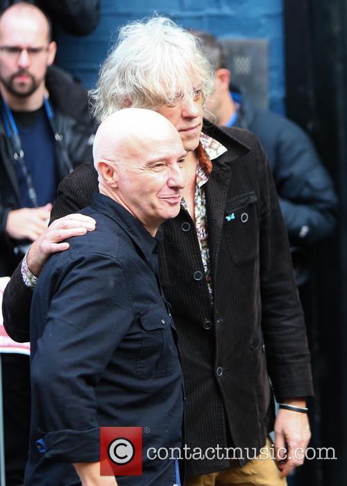 Midge Ure and Bob Geldof 8