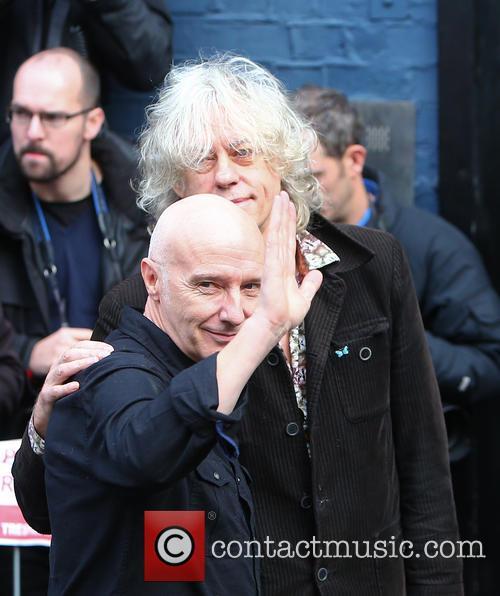 Midge Ure and Bob Geldof 9