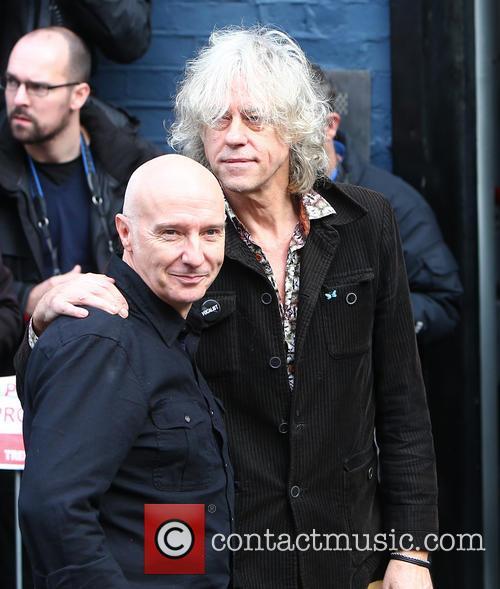 Midge Ure and Bob Geldof 1