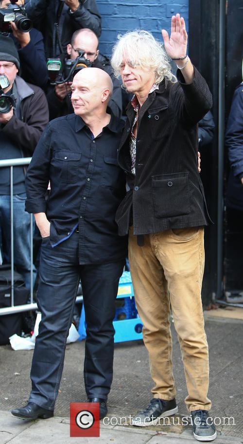 Midge Ure and Bob Geldof 10