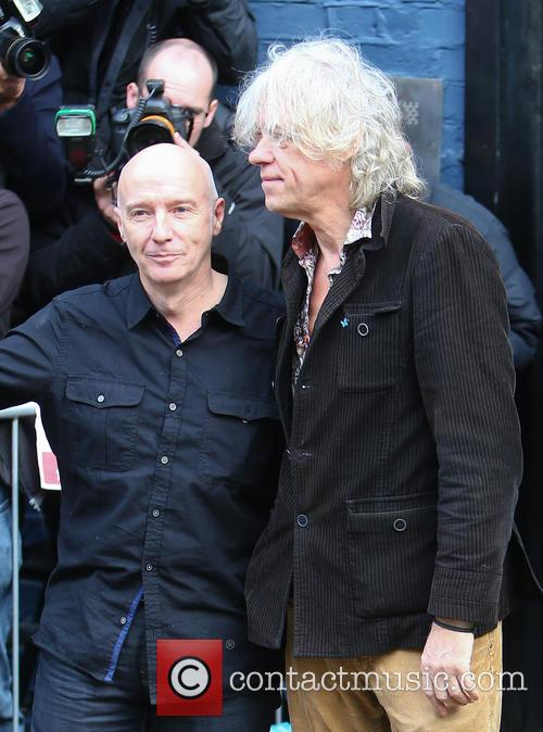Midge Ure and Bob Geldof 11