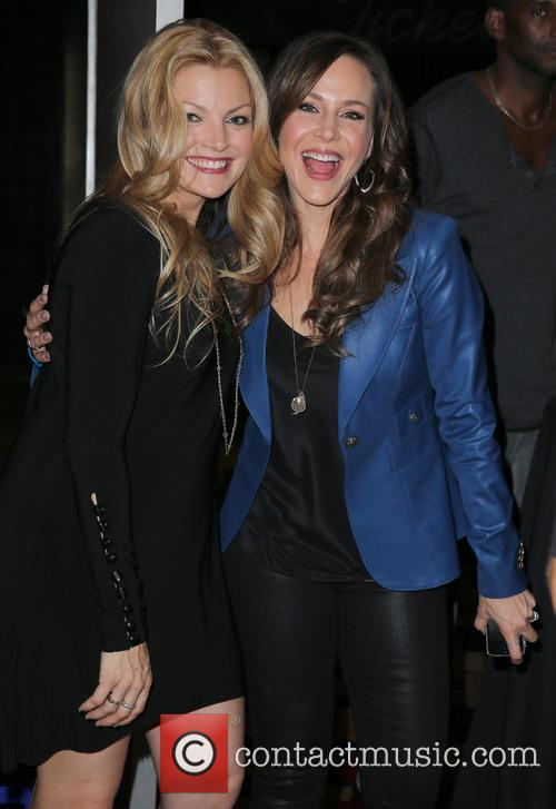 Clare Kramer and Julie Benz 6