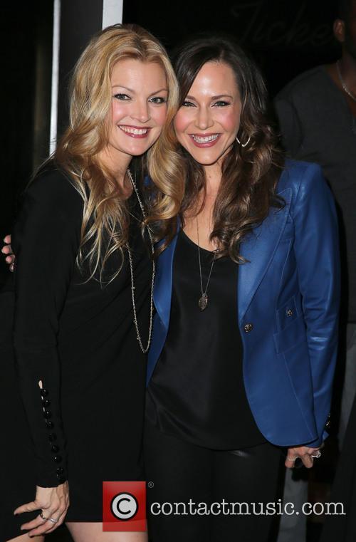 Clare Kramer and Julie Benz 8