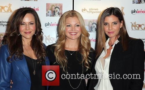 Julie Benz, Clare Kramer and Charisma Carpenter