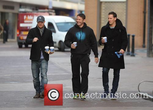 Jake Wood, Steve Backshall and Brendon Cole 2