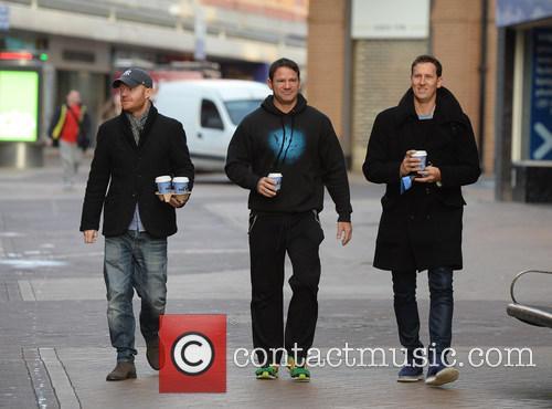 Jake Wood, Steve Backshall and Brendon Cole 3