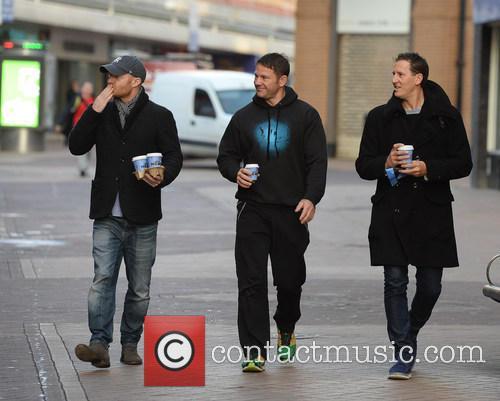 Jake Wood, Steve Backshall and Brendon Cole 4