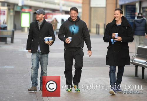 Jake Wood, Steve Backshall and Brendon Cole 5