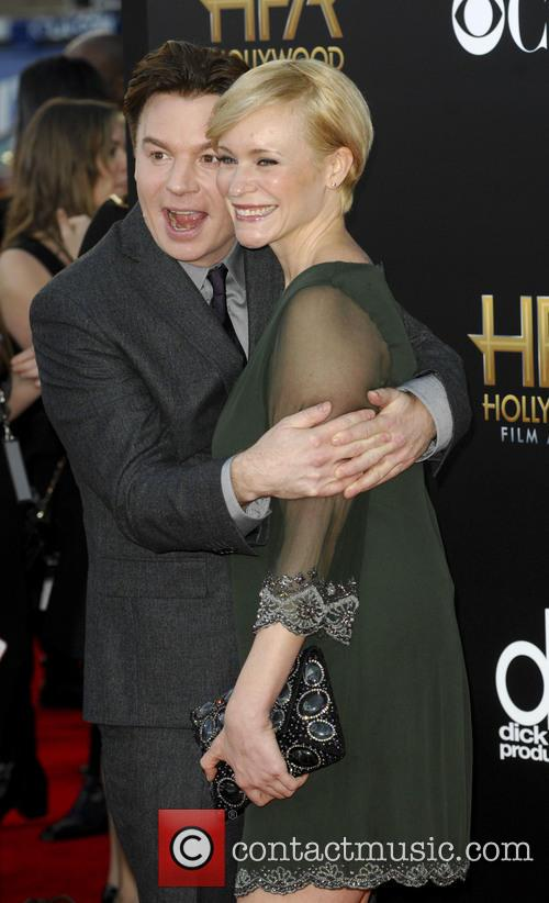 Mike Myers and Kelly Tisdale 2