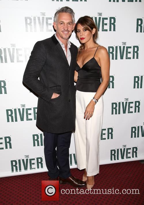 Gary Winston Lineker and Danielle Lineker 1