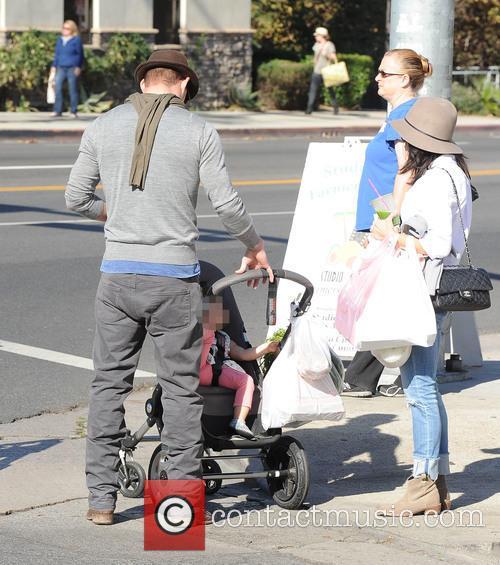 Channing Tatum, Jenna Dewan and Everly Tatum 3