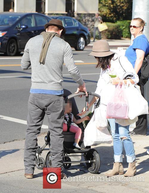 Channing Tatum, Jenna Dewan and Everly Tatum 5