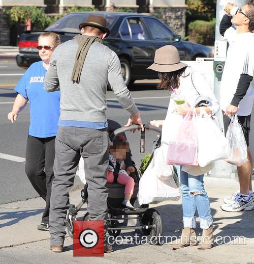 Channing Tatum, Jenna Dewan and Everly Tatum 8
