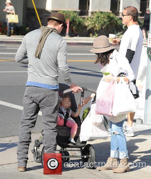 Channing Tatum, Jenna Dewan and Everly Tatum 11