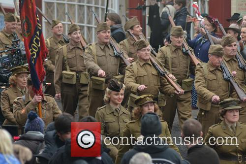 'Dad's Army' filming