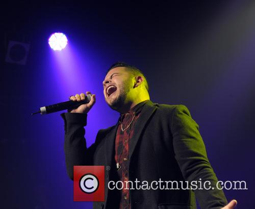 Paul Akister performing live at G-A-Y