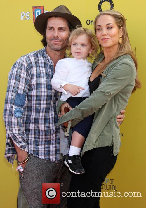 Greg Lauren, Sky Cole Lauren and Elizabeth Berkley 3