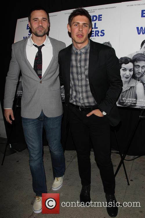 Brett Dalton and Chris Lowell 5