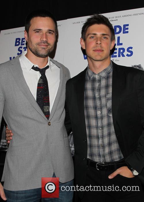 Brett Dalton and Chris Lowell 7