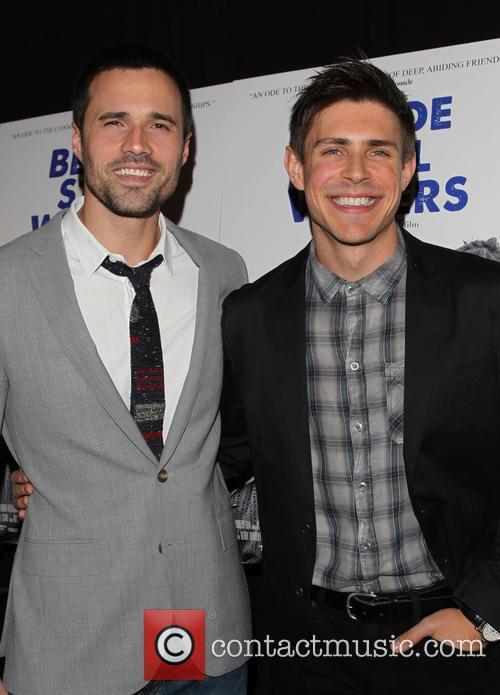 Brett Dalton and Chris Lowell 1
