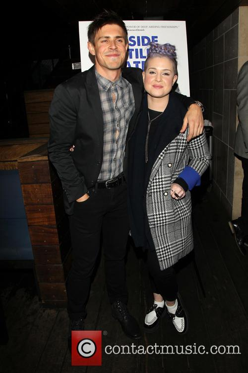 Chris Lowell and Kelly Osbourne