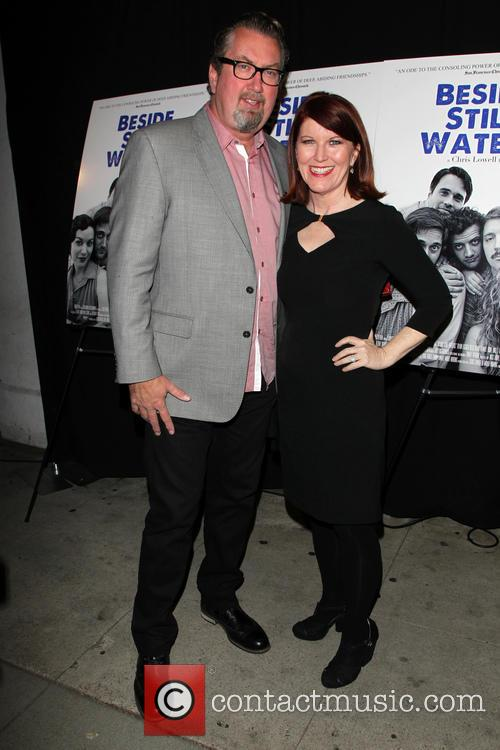 Kate Flannery and Chris Haston 7