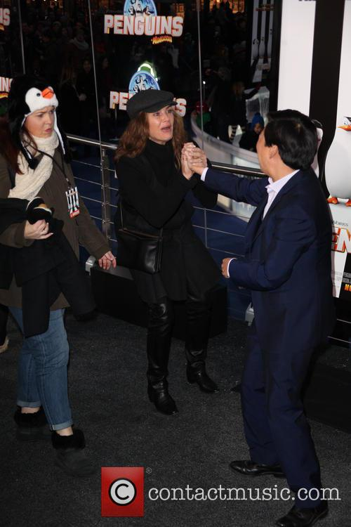 Brooke Shields and Ken Jeong 2