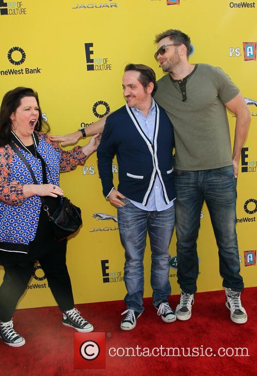 Melissa Mccarthy, Ben Falcone and Joel Mchale 9