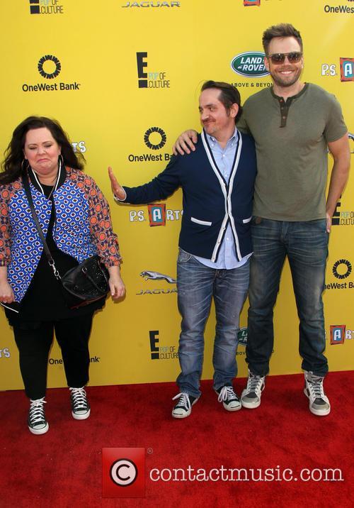 Melissa Mccarthy, Ben Falcone and Joel Mchale 10