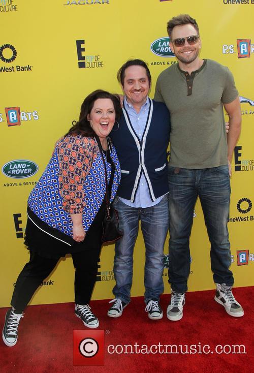 Melissa Mccarthy, Ben Falcone and Joel Mchale
