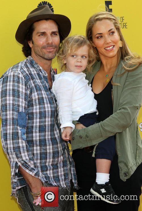 Sky Lauren, Elizabeth Berkley and Greg Lauren 2