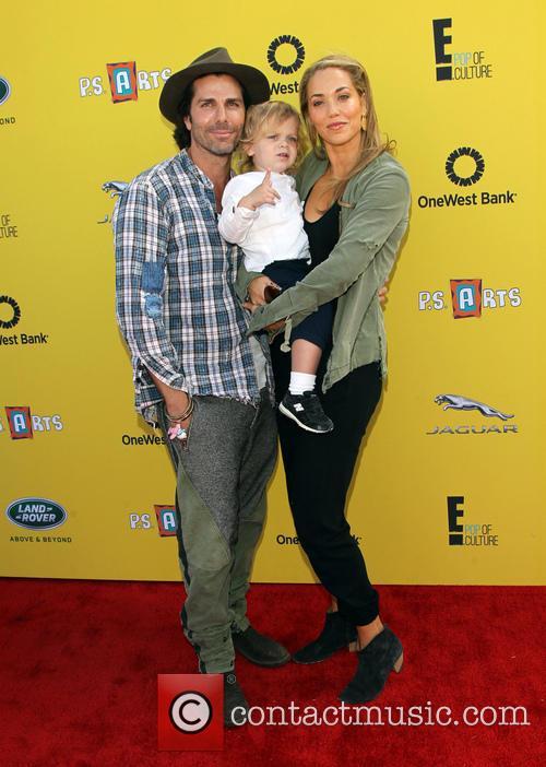 Sky Lauren, Elizabeth Berkley and Greg Lauren 4