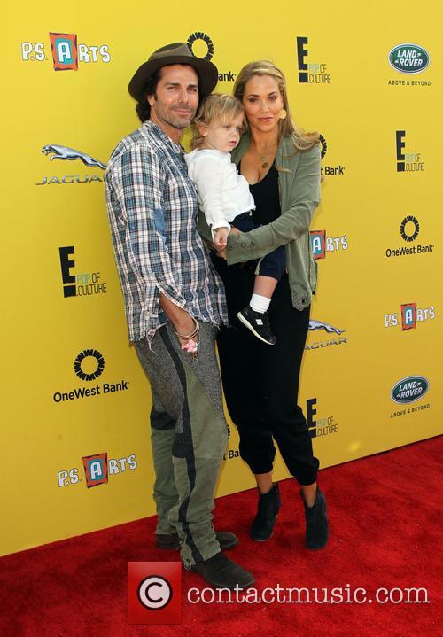Sky Lauren, Elizabeth Berkley and Greg Lauren 1