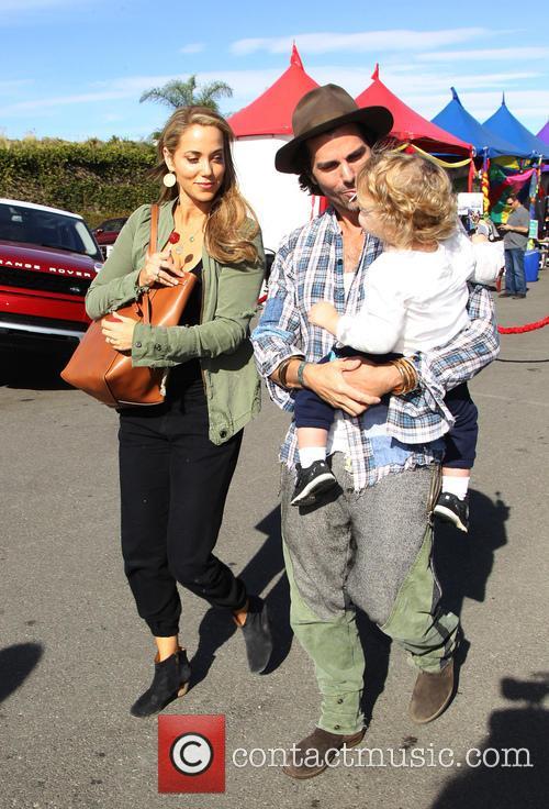 Sky Lauren, Elizabeth Berkley and Greg Lauren 8