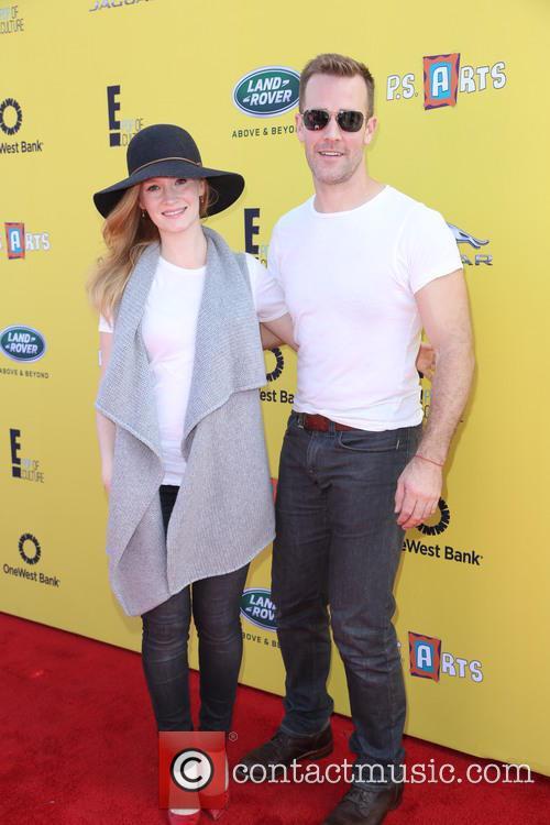 Kimberly Brooks and James Van Der Beek 2